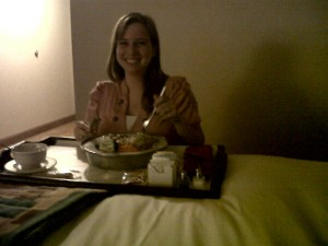 Kelly Rivard room service AdFarm California Sacramento