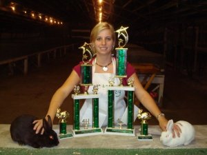 I would not be who I am today without the hard work I did in 4-H.