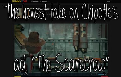 Chipotle The Scarecrow Funny Or Die
