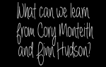 What can we learn from Cory Monteith and Finn Hudson