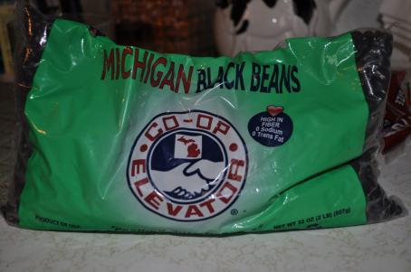 Black beans from Michigan Farming and Fitness