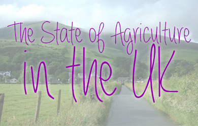The State of Agriculture in the UK United Kingdom