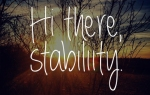 stability with bipolar disorder