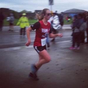 Brandi Buzzard Frobose Garmin Oz Run Half Marathon
