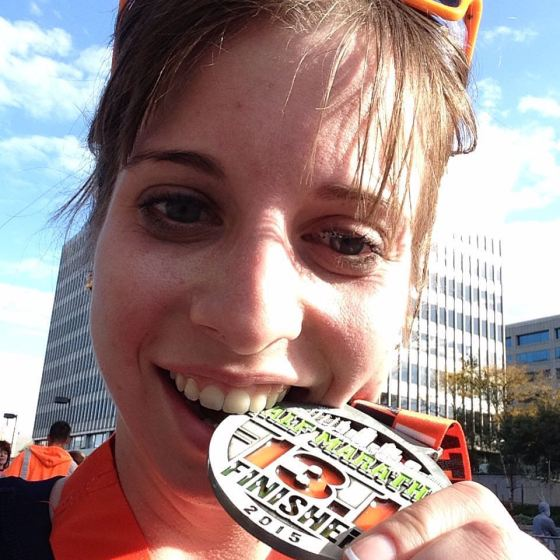 kansas city half marathon finisher medal
